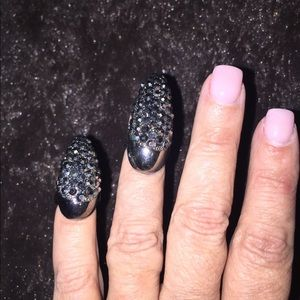 """Jewelry - Couture """"fingernail"""" rings"""